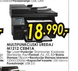 Multifunkcijski uređaj M1212 CE841A