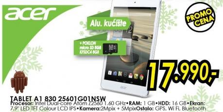 Tablet A1 830 25601go1nsw