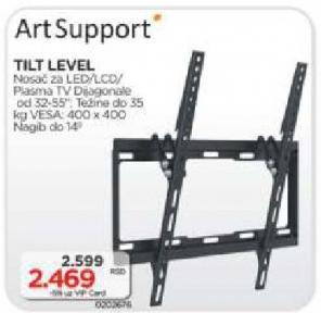 Nosač za TV Tilt Level