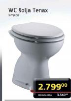 Sanitarna WC šolja TENAX
