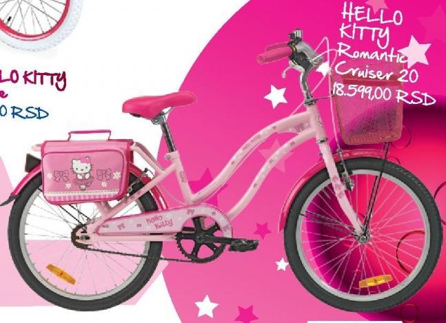 Dečije biciklo Hello Kitty Romantic Cruiser 20