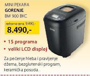 Aparat za pečenje hleba BM 900BKC
