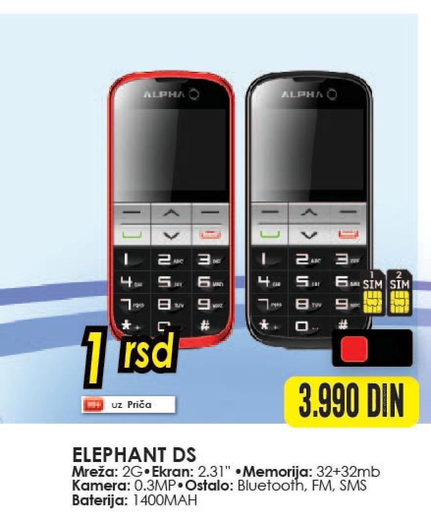 Mobilni telefon Elephant DS