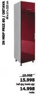 Kuhinjski element In Mdf Friz60/Ostava
