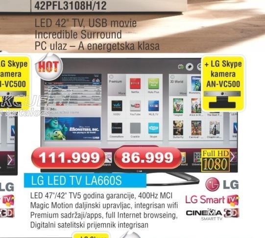 LED TV 47LA660S