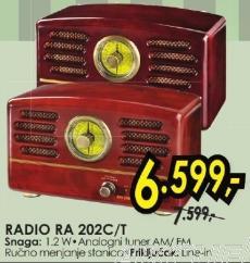 Radio Ra 202c/t