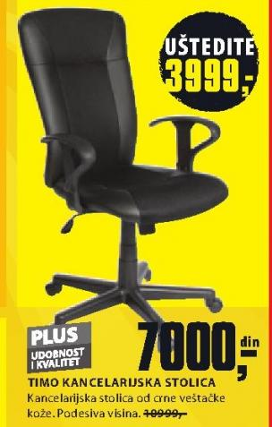 Kancelarijska stolica TIMO
