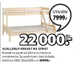 Krevet na sprat Hjallerup