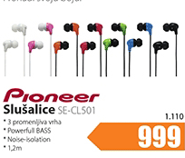 Slušalice SE-CL501