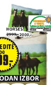 Set posteljine Horses