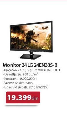Monitor 24 LG 24EN43TS-B
