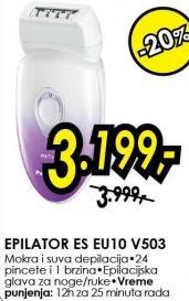 Epilator Es E10u V503
