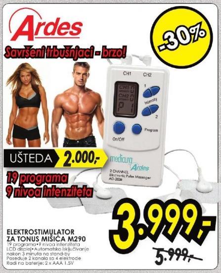 Elektrostimulator za tonus mišića M290