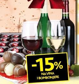 Popust na vina i bombonjere
