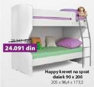 Krevet na sprat Happy