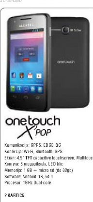Mobilni telefon One Touch X'pop