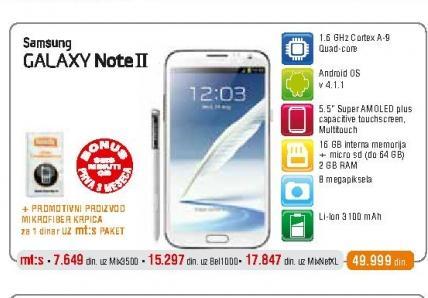 Mobilni telefon N7100 Galaxy Note 2