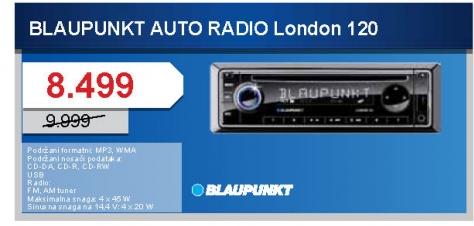 Auto Cd London 120 Usb 2.0