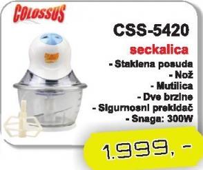 Seckalica CSS-5420