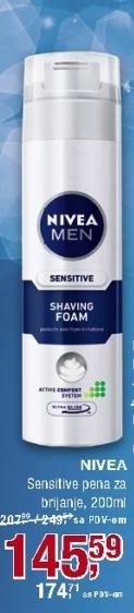 Pena za brijanje Sensitive