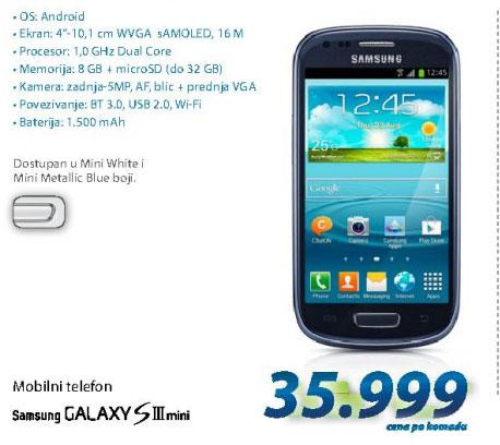 Mobilni telefon GALAXY S3 MINI