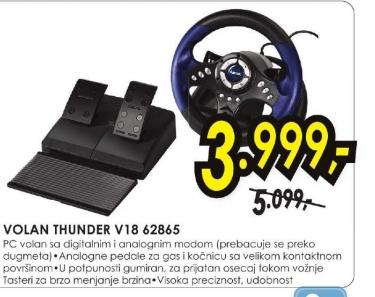 Volan THUNDER V18 62865