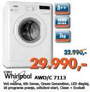 Veš Mašina AWO/C 7113