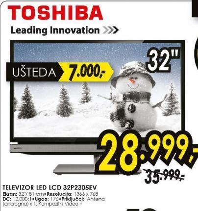televizor LED LCD 32P2305EV