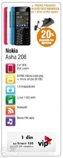 Mobilni telefon Asha 205