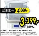 aparat za kuvanje na pari FS 470