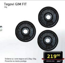 Tegovi GIM Fit