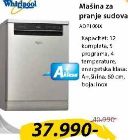Mašina Za Pranje Posuđa ADP100IX