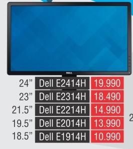 """Monitor LED 19.5"""" E2014h"""