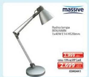 Radna lampa Benjamin