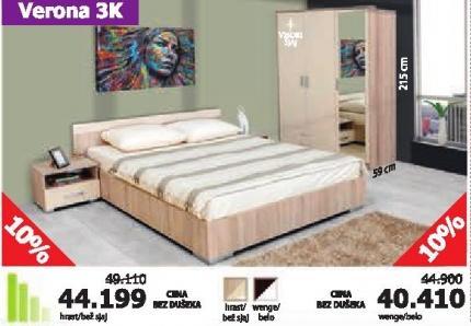 Spavaća soba Verona 3k