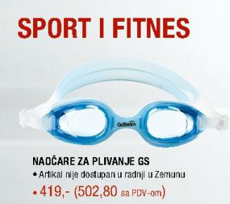 Naočare za plivanje GS