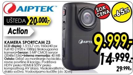 Kamera Sportscam Z3 Aiptek