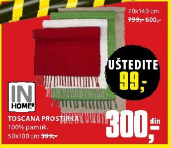 Podna prostirka Toscana 70x140 cm