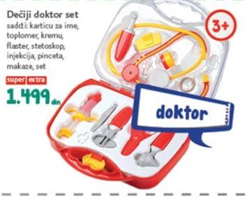 Igračka doktor set