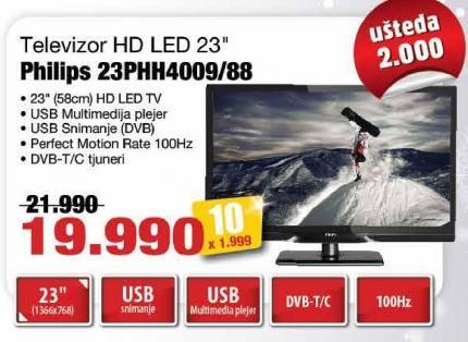 "Televizor LED 23"" 23phh4409/88"