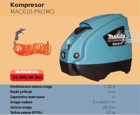 Kompresor MAC610-Promo