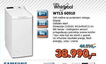 Sudomašina WTLS 60910