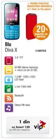 Blu Diva X