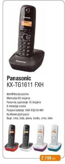 Fiksni Telefon KX-TG 1611