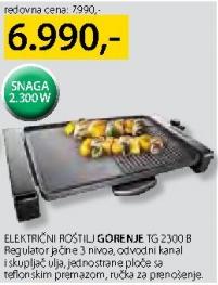 Električni roštilj TG 2300 B