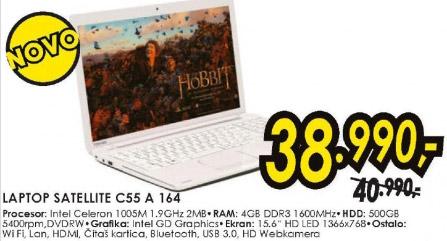 Laptop Satellite C55 A 164