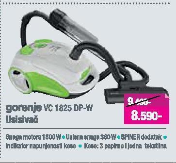 Usisivač VC 1825 DP-W
