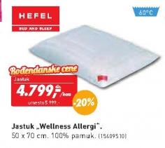 Jastuk Wellness Allergi