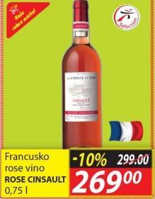 Rose vino Rose Cinsault