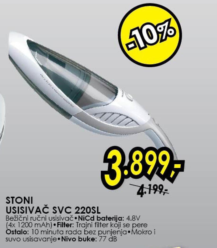 Usisivač akumulatorski SVC 220SL